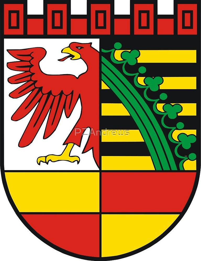 Coat of Arms of Dessau, Germany by PZAndrews
