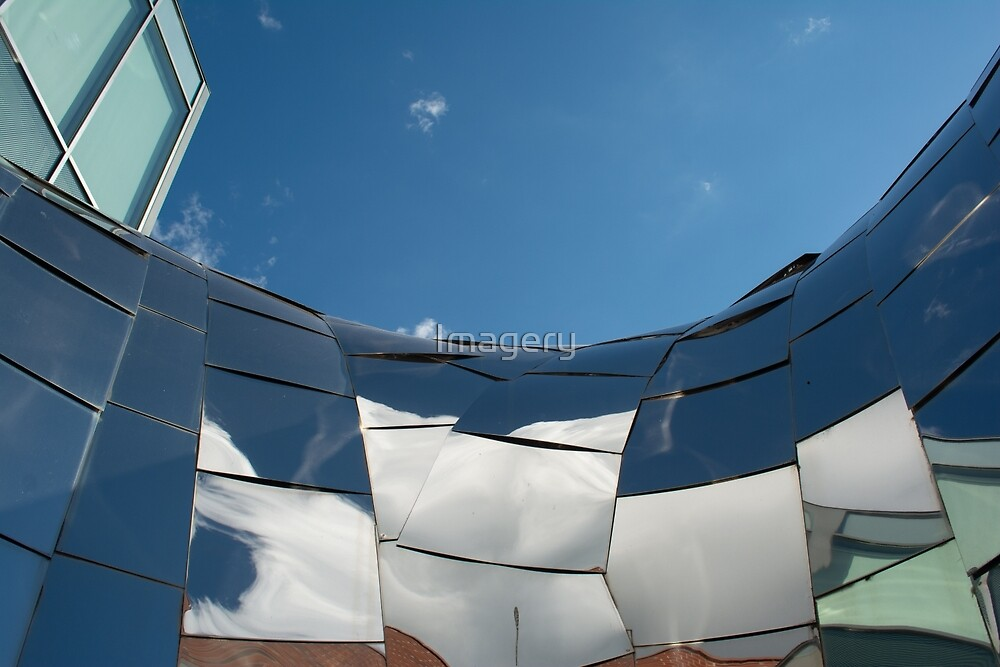 Memphis Sculpture and Sky by Imagery