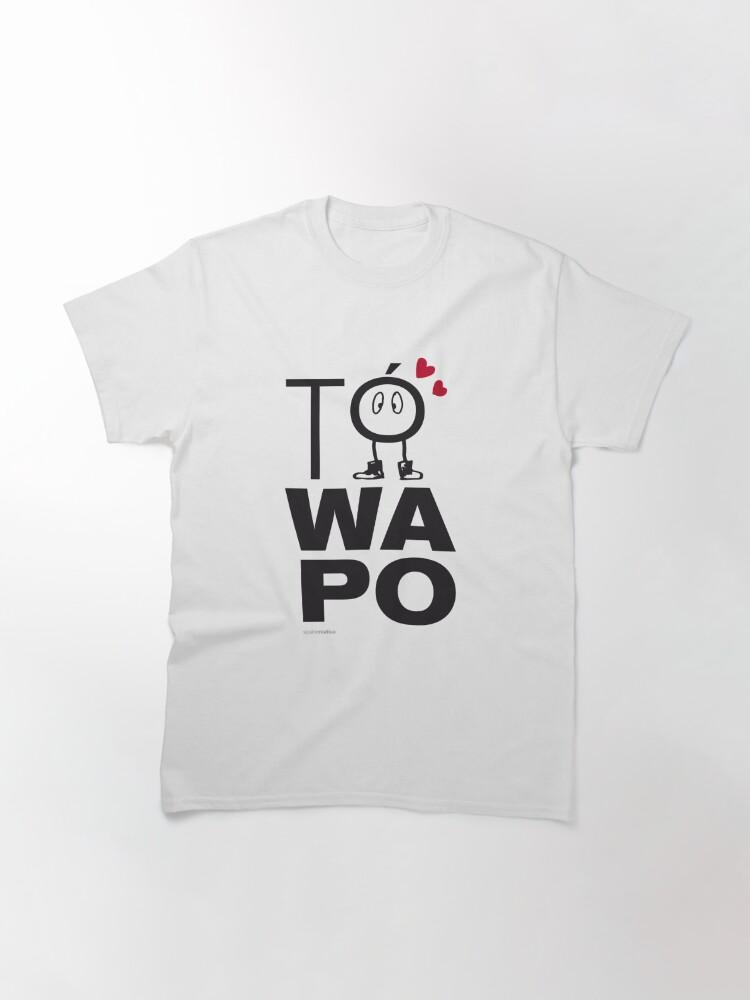 Vista alternativa de Camiseta clásica MALAGA TO WAPO