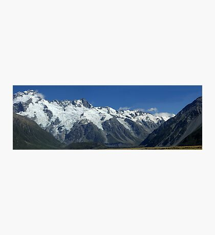 Mnt Cook National Park NZ Photographic Print