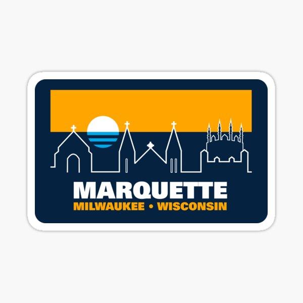 Marquette & MKE Sticker