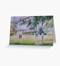 Strolling - Batlow golf course Greeting Card