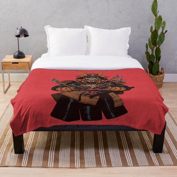 Dead Samurai Throw Blanket