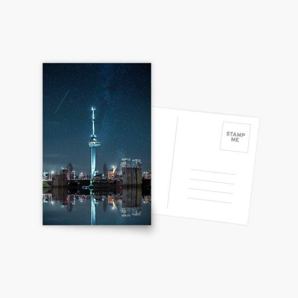 Euromast Rotterdam stars Astral Astrophotography Milky way Netherlands Postcard