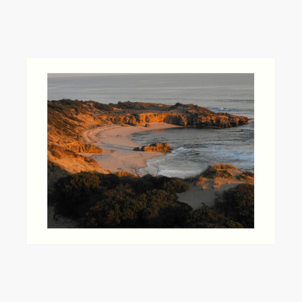 Koonya Backbeach, Sorrento Art Print