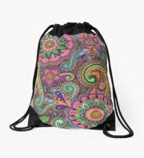 Colour Mendhi Drawstring Bag
