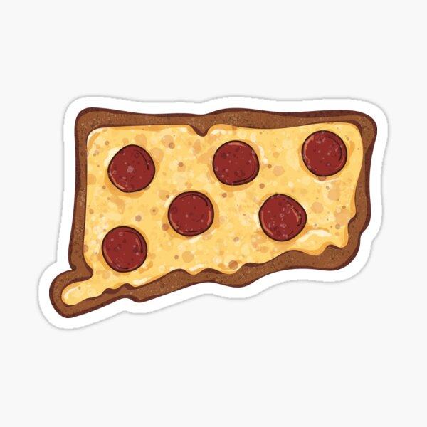 Connecticut Pizza Sticker