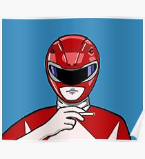 Badass Power Ranger Poster