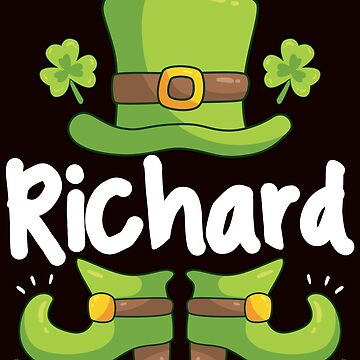 Saint Patrick's Day / St Patty's Day / Clover / Leprechaun Richard / Irish / Ireland / Funny Shamrock / Drinking Green Beer / Luck of the Irish / by larspat