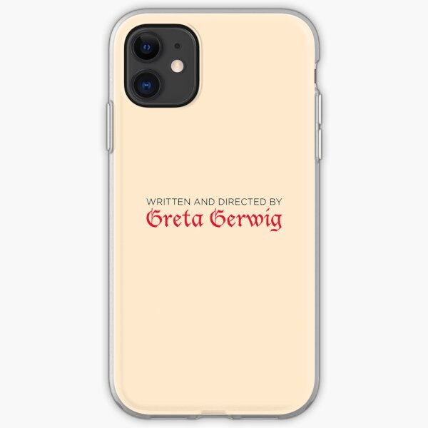 Written and Directed by Greta Gerwig iPhone Soft Case