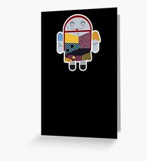Droidarmy: Sally NBC Greeting Card