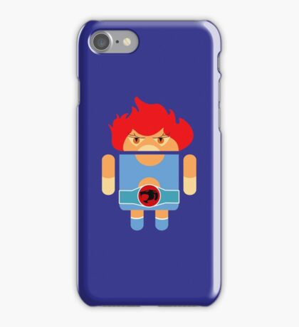 Droidarmy: Thunderdroid Lion-o no text iPhone Case/Skin