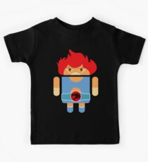 Droidarmy: Thunderdroid Lion-o no text Kids Tee