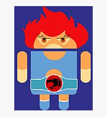 Droidarmy: Thunderdroid Lion-o no text Photographic Print
