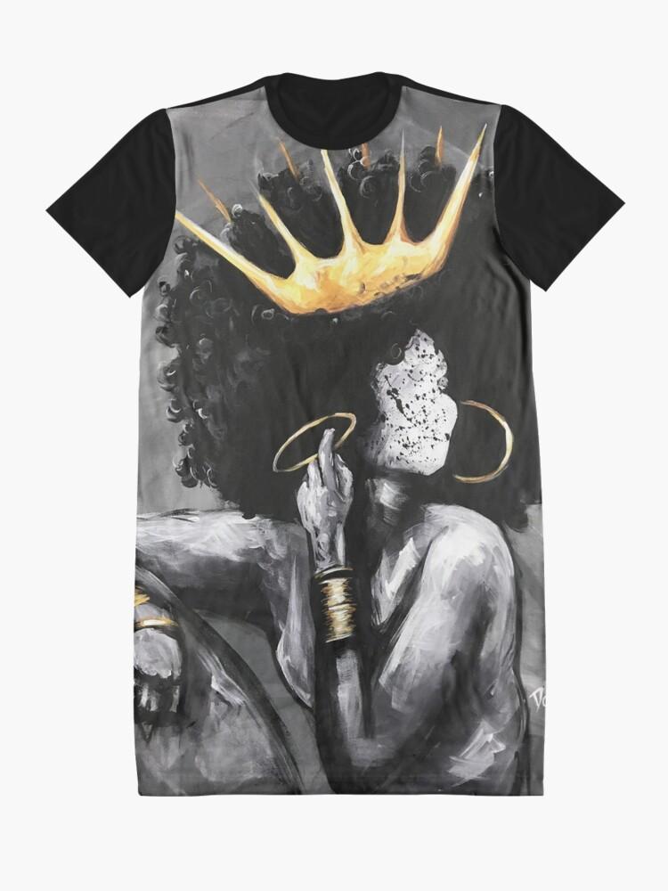 Alternative Ansicht von Natürlich Königin VI T-Shirt Kleid