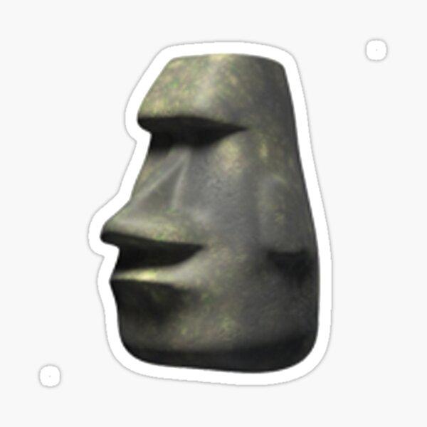 Moai Emoji Sticker