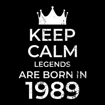 Legends are born in 1989 by larry01