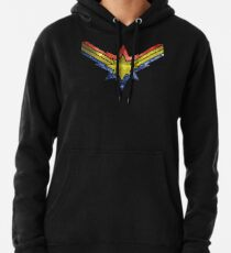 Punch Holes in the Sky Pullover Hoodie