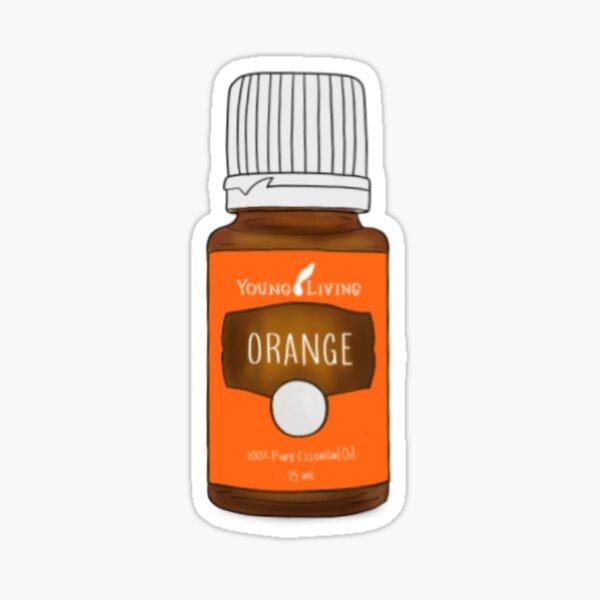 Aceite esencial de naranja Pegatina