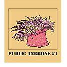 Public Anemone #1 by raymondsbrain