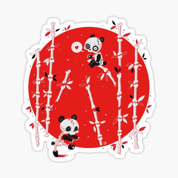 Zombie Pandas Sticker
