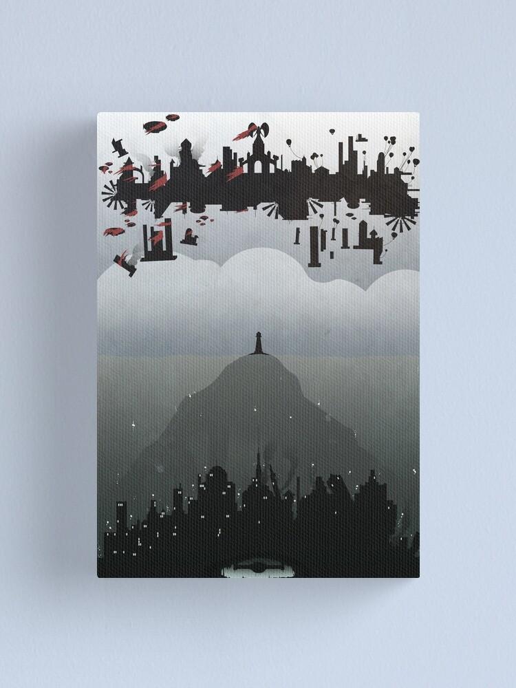 Alternate view of Bioshock- 2 worlds Canvas Print