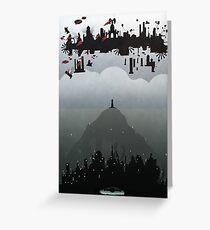 Bioshock- 2 worlds Greeting Card