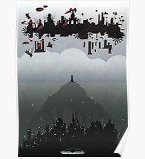 Bioshock- 2 worlds Poster