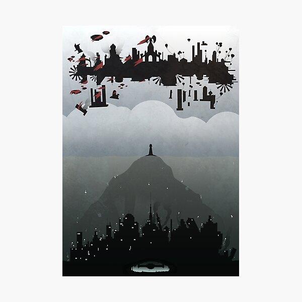 Bioshock- 2 worlds Photographic Print