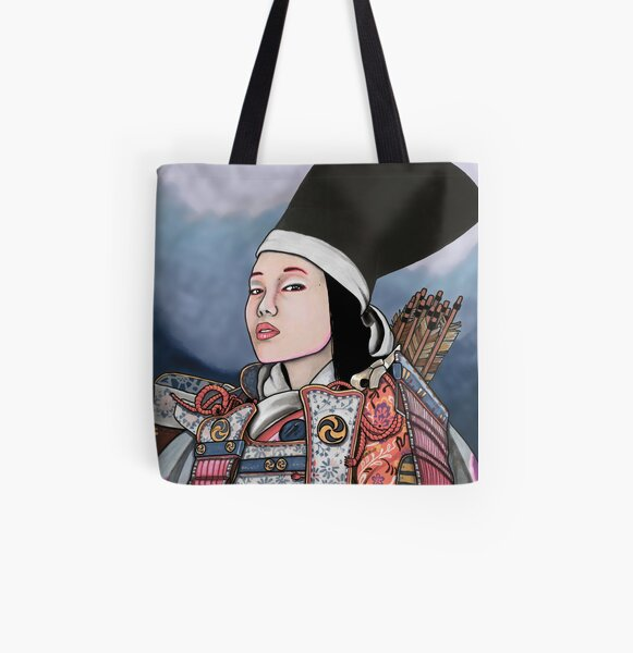 Tomoe Gozen All Over Print Tote Bag