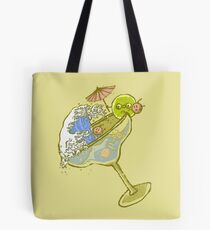 Spilled Drink Tote Bag