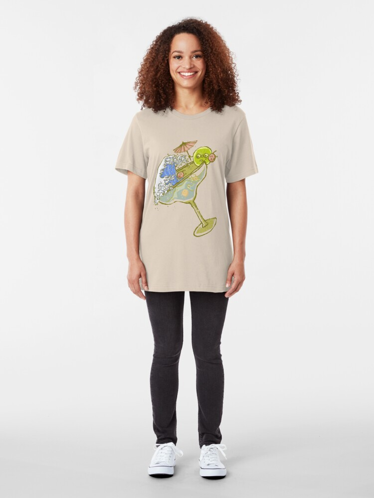 Alternate view of Spilled Drink Slim Fit T-Shirt