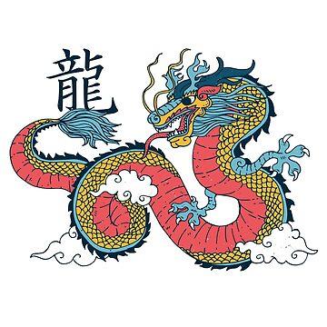 Chinese Dragon by soondoock