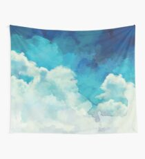 Über den Wolken Wandbehang