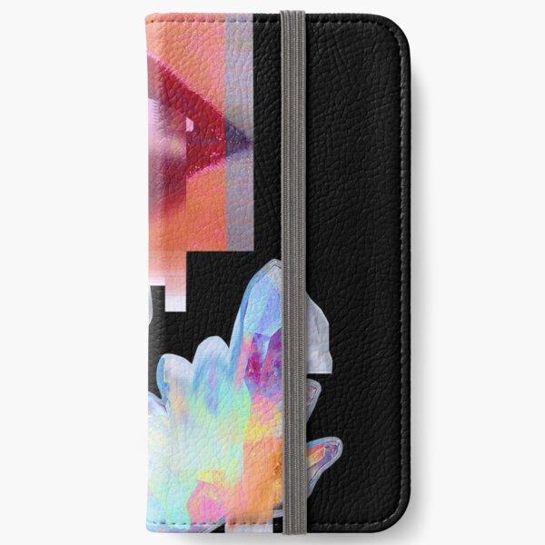 Crystal Lips iPhone Wallet