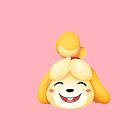Happy Isabelle Animal Crossing by doodlecarrot