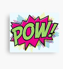 Pow! Cartoon Canvas Print