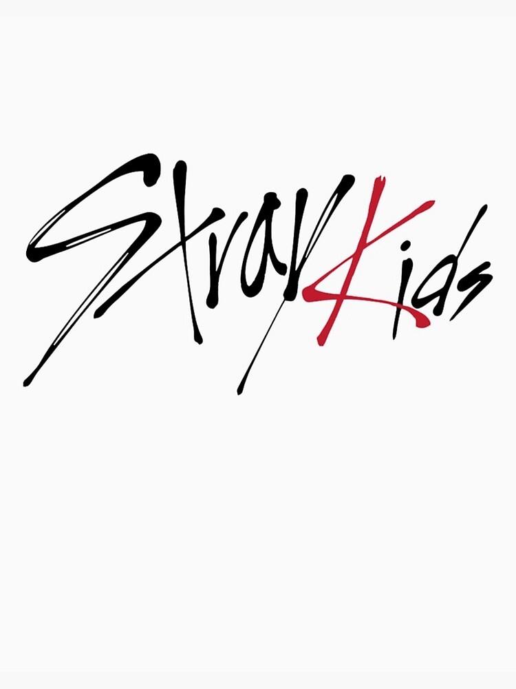 Stray Kids Logo / Stray Kids Yellow Wood Logo Yellow By ...