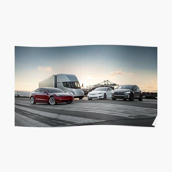 Tesla family Poster