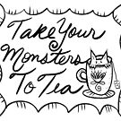 Take Your Monsters To Tea by Filomena Jack