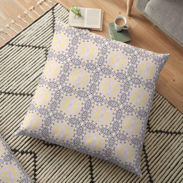 Pastel Pattern Floor Pillow