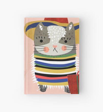 Travel Cat Hardcover Journal