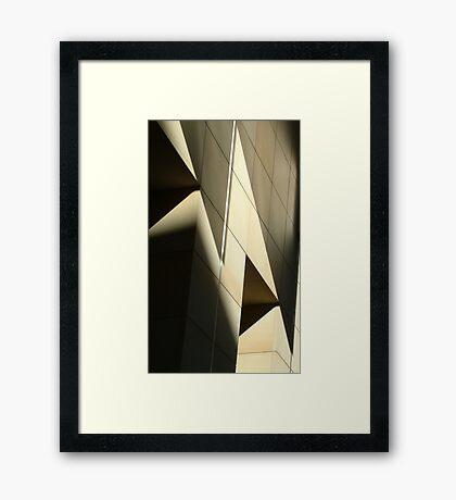 Play of light Framed Print