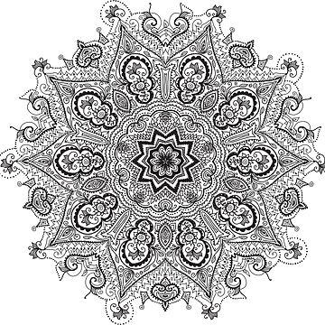 Mandala by Smaragdas