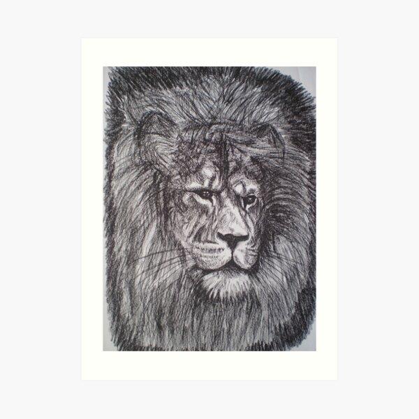 Aslan - Narnia Art Print