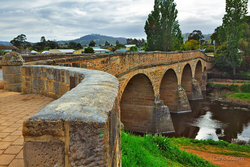 Quot Richmond Bridge Tasmania 3 Quot By Chris Cobern Redbubble