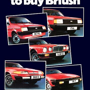 BRITISH LEYLAND BROCHURE by ThrowbackMotors