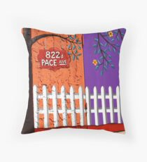 822 Pace Avenue Throw Pillow