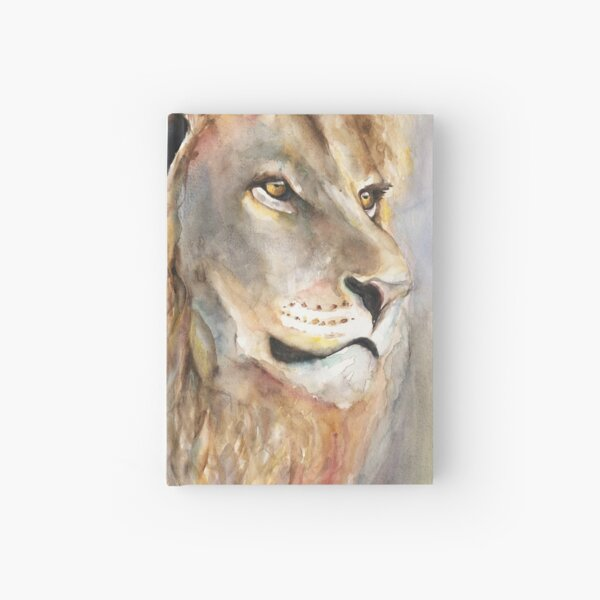 Proud Lion Hardcover Journal