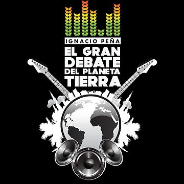 The Great Planet Earth Debate (Official T-Shirt) by HearSayLtd